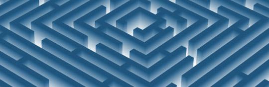 Kreslení 3D labyrintu v Adobe Illustratoru