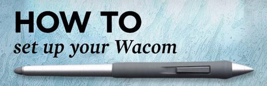 Návody pro tablet Wacom
