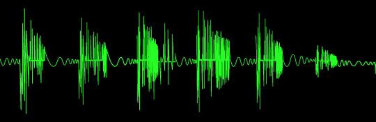 Jak se kreslí zvuk