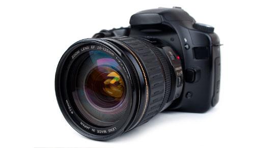 Digitální zrcadlovka - základ focení pro fotobanky