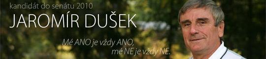 Jaromír Dušek - volební web pro senátní volby 2010