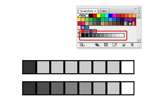 Vytvoření barevného přechodu