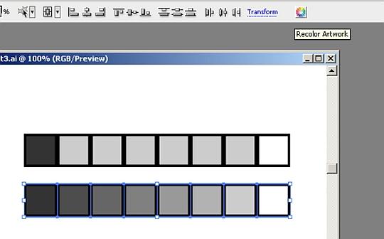 Tutoriál pro míchání barev v Illustratoru