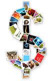 Výdělky fotografů a grafiku v microstock fotobankách