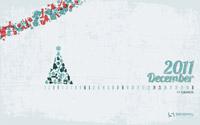 Vánoční kalendář na plochu - prosinec 2011 - volně ke stažení