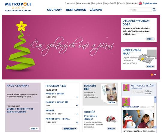 Použití mé ilustrace na webu Metropole Zličín