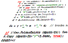 Skript pro rozkopírování fotografií podle data jejich pořízení