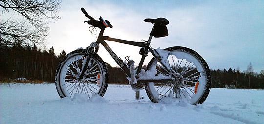Cyklistika v zimě