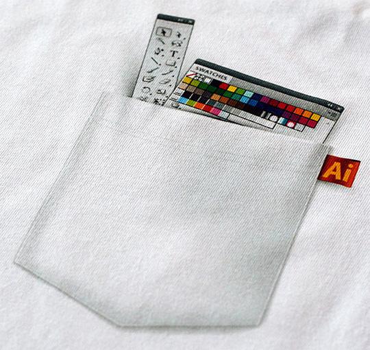 Ukázka tisku na triko