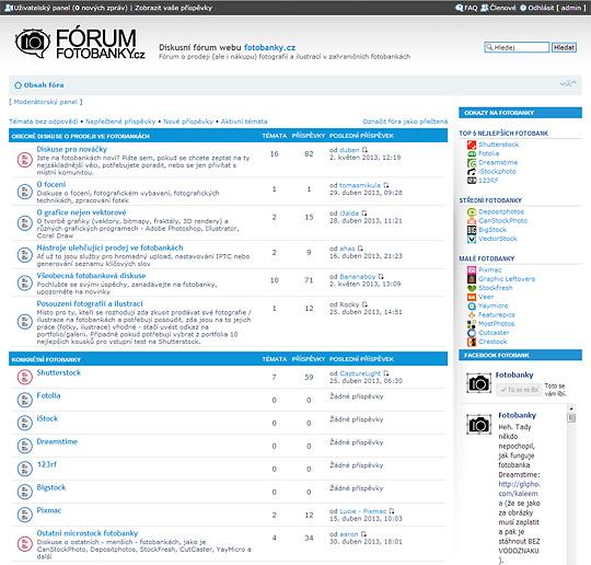 Fotobankové diskusní fórum - rady, inspirace, poradna, pokec