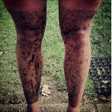 Nohy po cyklojízdě