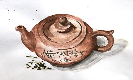 Moje první čajová konvička