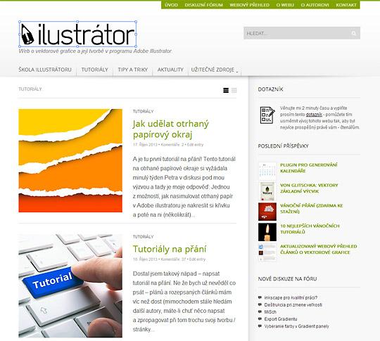 ilustrátor.cz web pro ilustrátory