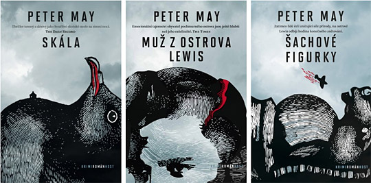 Peter May - trilogie z ostrova Lewis