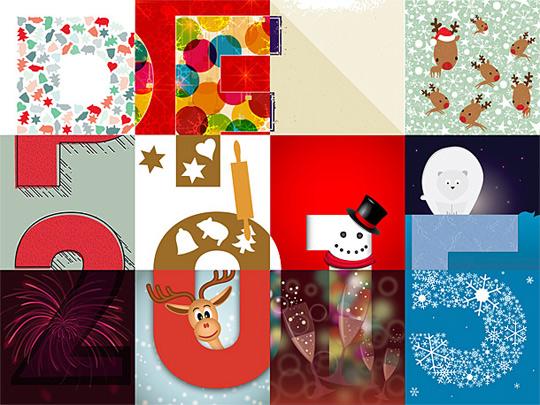 PF 2014 od grafiků z webu ilustrator.cz