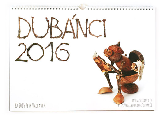 Kalendář s dubánky 2016