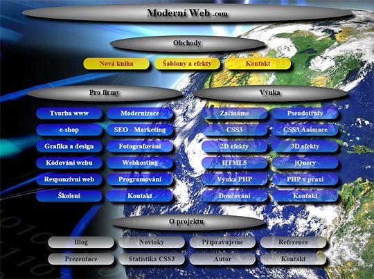 Webové stránky autora