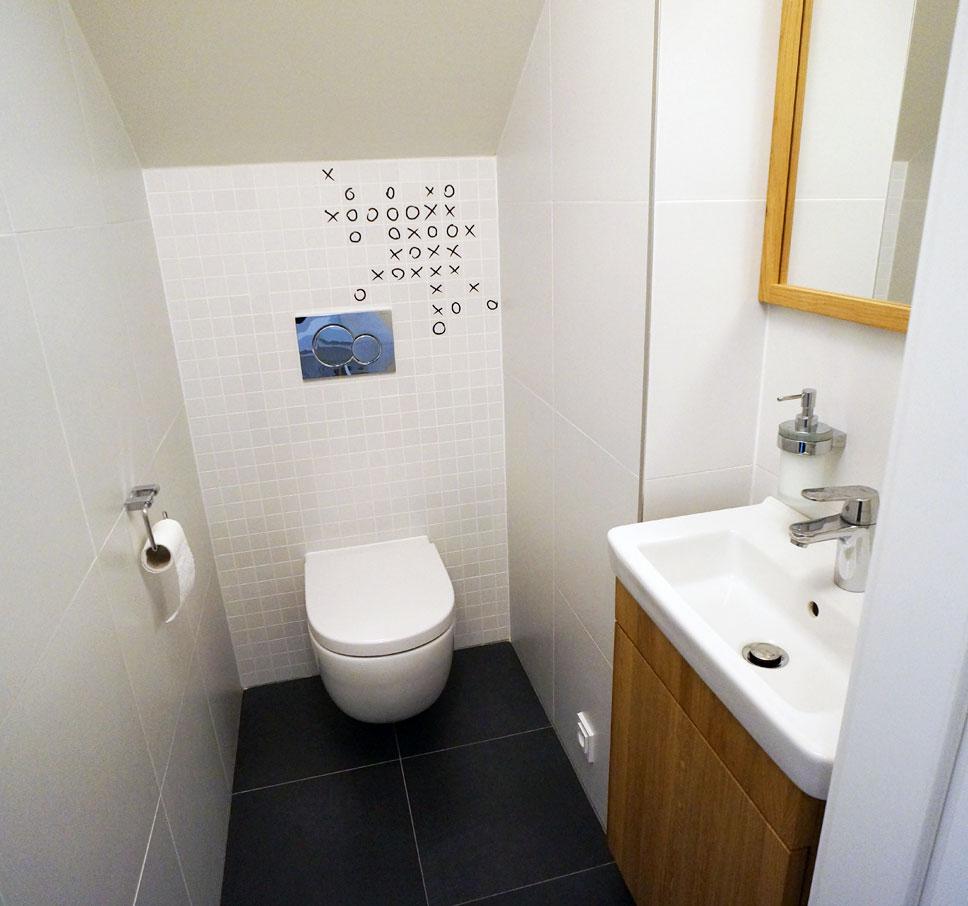 Samolepka na záchod