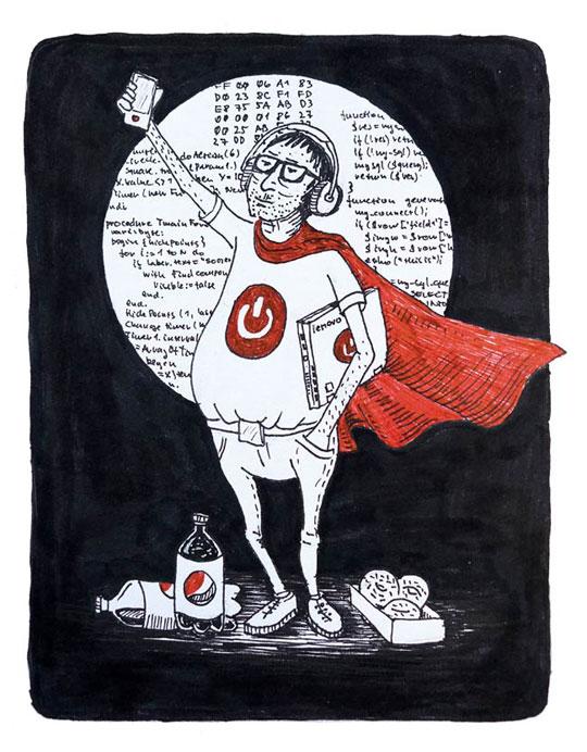 bookink - ilustrace ke knížce