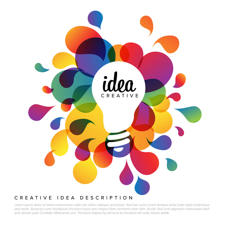 Ilustrace nápadu