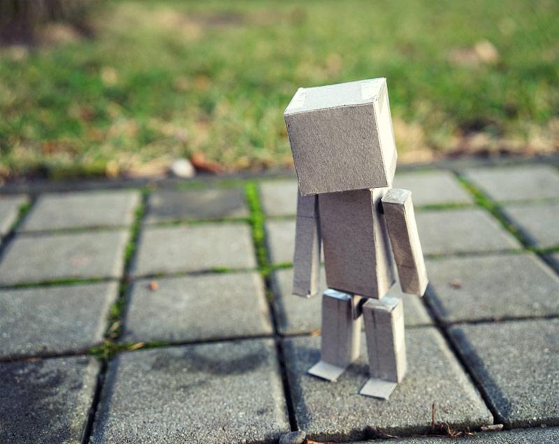 Papírový robot